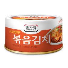 Jongga Stir-fried kimchi 160g