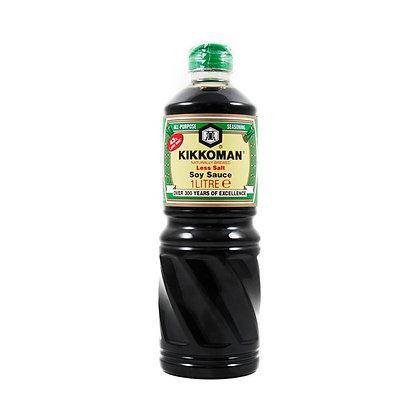 Kikkoman Less Salt Soy Sauce 1L