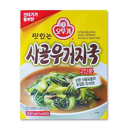 Ottogi Beef Bone & Vegetable Soup 22g