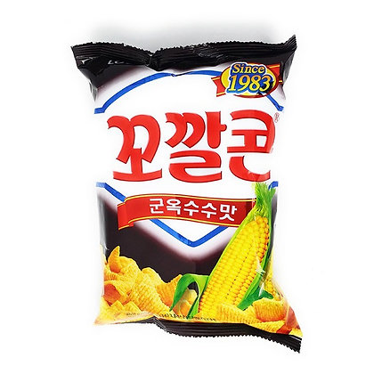 Lotte Grilled Corn Flavour Snack 72g