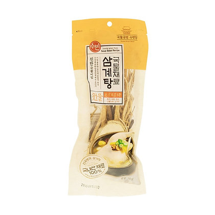 Chicken Soup with Ginseng Ingredient 70g