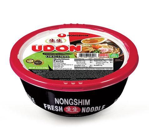 Nongshim Cup & Bowl Udon Fresh noodle 276g