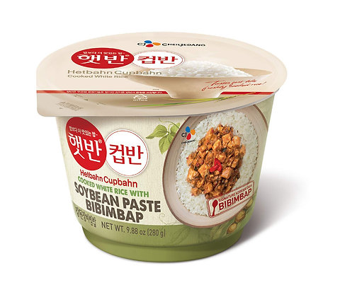 CJ Soybean Paste Bibimbap HetBahn CupBahn 280g