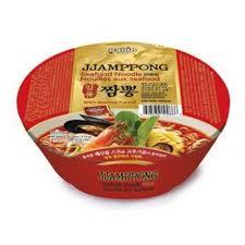 Paldo Jjamppong Seafood Flavor Ramen Cup 116g