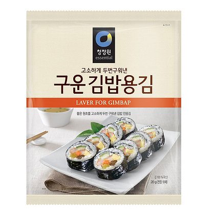 Chungjungone Roasted Laver for Kimbap 20g