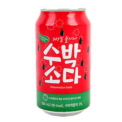 Watermelon Flavour Sparkling Soda 350ml