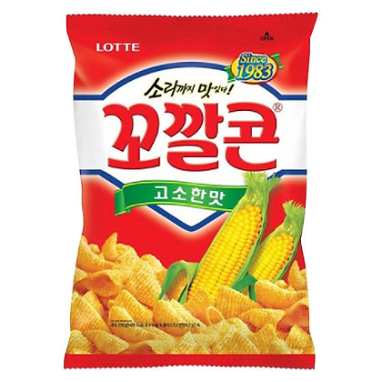 Lotte Corn Snack Original 72g