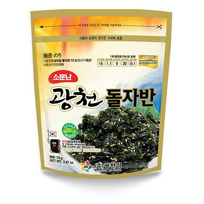 Kwangchun Seasoned seaweed 70g