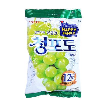Lotte Green Grape Candy 153g