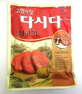 CJ Beef Flavor Dashi Seasoning Powder 300g