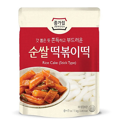 Jongga Rice Cake Stick Type 1kg