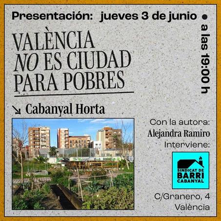 València no es ciudad para pobres