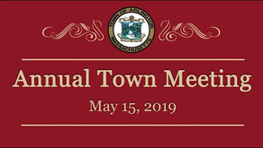 Commission Report to Town Meeting 2019