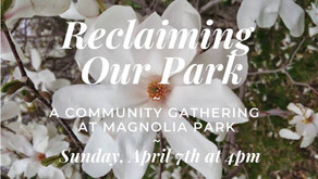 """AHRC Co-Sponsors """"Reclaiming Our Park"""" Gathering in Response to Hate-inspired graffiti"""