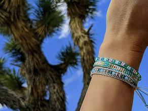 💠 I love all the handmade details and craftsmanship of these naya bracelets!