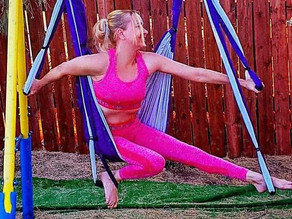 🧘♀️ Have you tried using an Aerial Yoga Swing yet?
