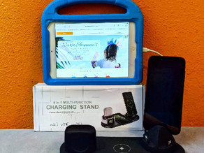 📳  Check out this awesome 6 in 1 wireless charging stand I found it at TZONOO store on amazon.