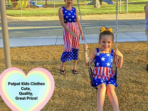I found these adorable matching mommy and me dresses at patpat.com