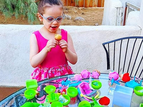🍃 Zelah had so much fun #unboxing this Pea Pod Babies bundle!