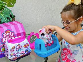 🌈 Pets Alive the new Pet Shop Surprise cuties from zuru toys!