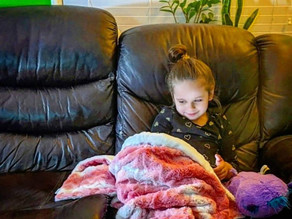 Do your kids have a favorite blanket they cuddle with and carry around everywhere?