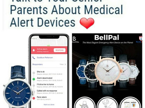 BlueStar Senior Tech Medical Alert Watch