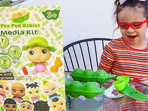 🍃 Zelah had a blast today unboxing this amazing Pea Pod Babies bundle!