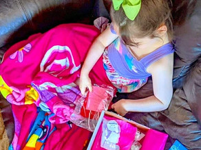 Zelah had so much fun playing and getting #crafty with this fun box of gifted crafts from agsisters.