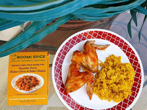 👩🍳 Have you tried boomi spice yet? They make the most delicious indian curry spice blends!