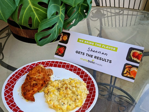 👩🍳 These @metabolicmeals taste DELICIOUS!