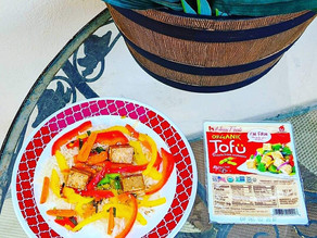 We've been experimenting with lots of different ways to make tofu lately!
