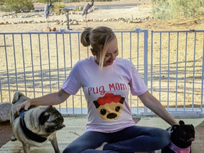 👕 🐶  I found this pug mom tee in the dog lovers (cynopohile) collection at edmonds.love