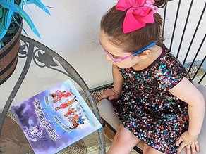 📚 One of Zelah's favorite gifts at her birthday party was these newly released books!!