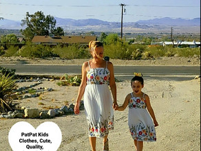🌵 I found these beautiful matching mommy and me dresses at patpat.com