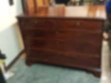 Georgian mahagonay draw chest
