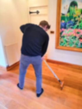 floor oiling
