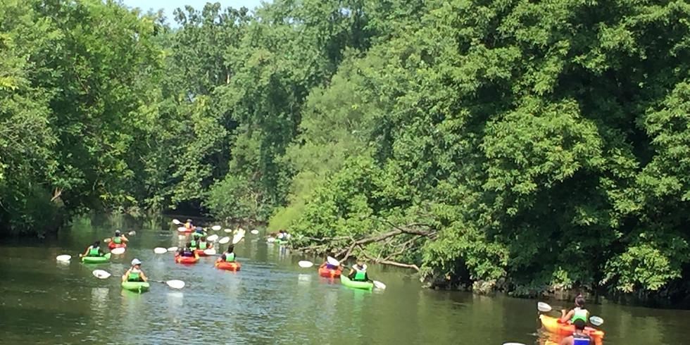 Kayaking the Darby Creek with John Heinz National Wildlife Refuge