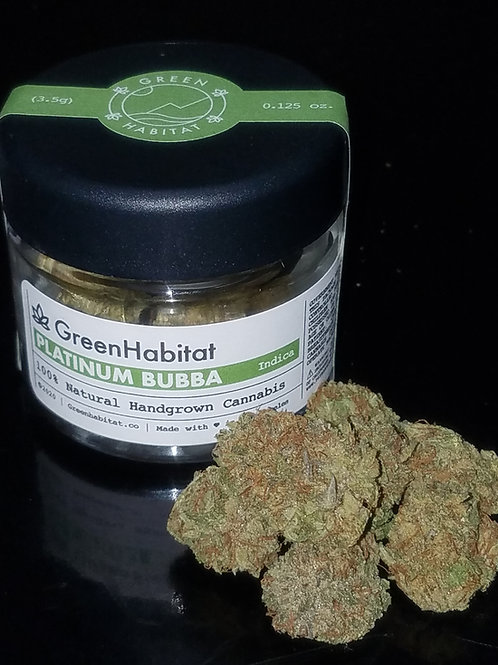 Platinum Bubba Kush by Green Habitat