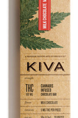 Milk Chocolate Bar 100mg THC by Kiva