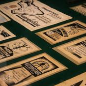 Anúncios do ilustrador T. Tarquino