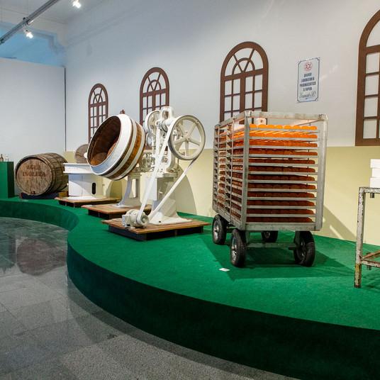 Maquinário de produção