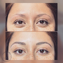 Fresh brows! Luv these transformations!