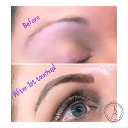 Touchup time! #betterbrows #browmagic #m