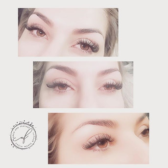 Gotta give some fresh lash and brow love! #bomblashes #bombbrows #lashextension #browwax #denverbeauty