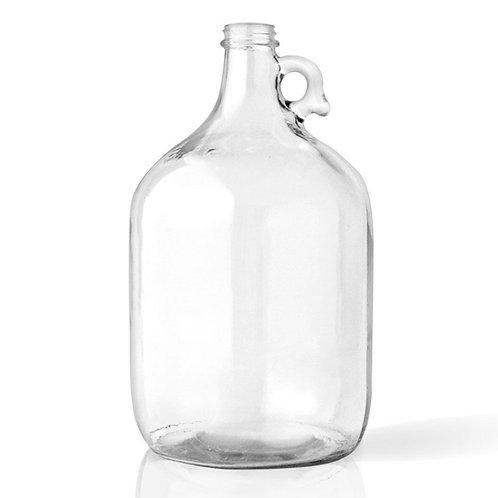 Clear Glass Gallon Jug