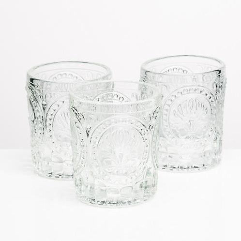 Textured Glass Votives