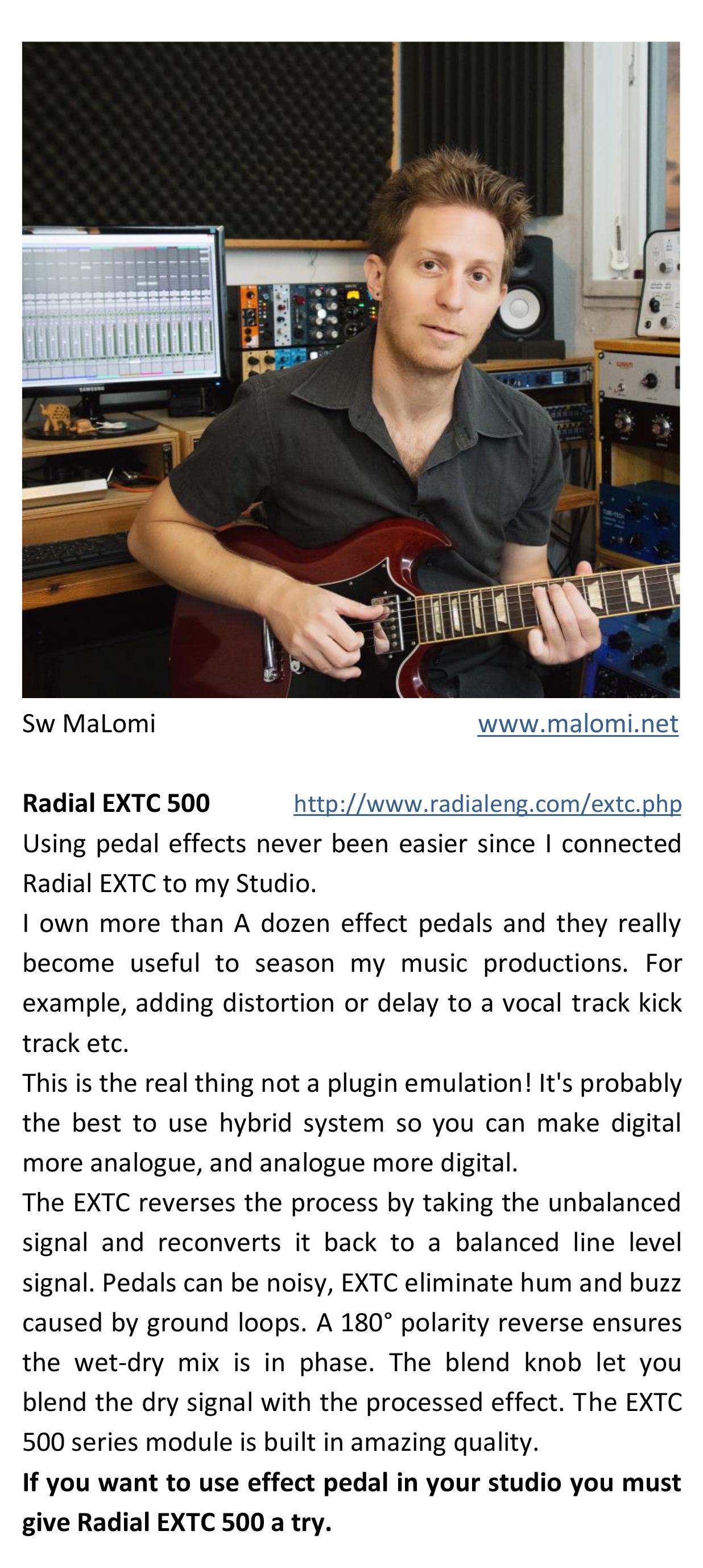 Radial EXTC -1