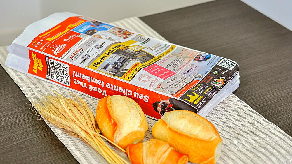 Franquia de Publicidade em sacos de pão