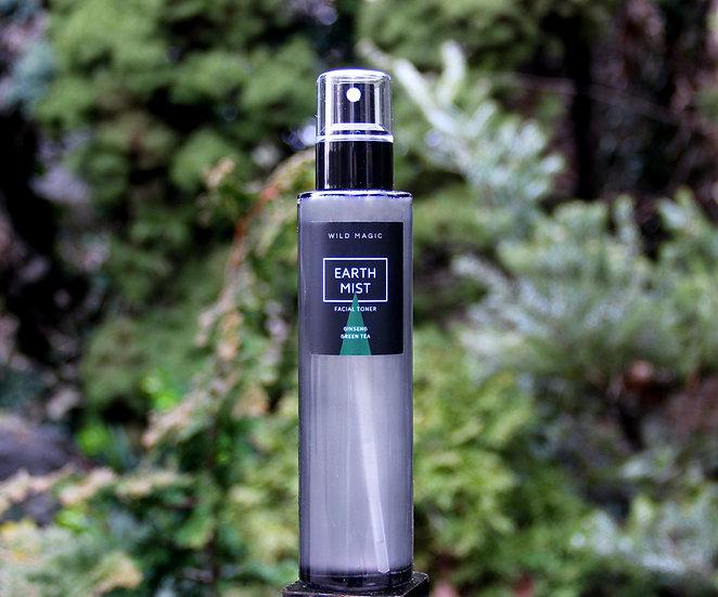 EARTH MIST  •  Ginseng + Green Tea Facial Toner