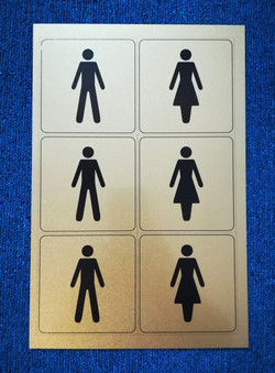 Aluminium printed sign plate czechia